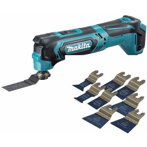 Makita DGA452 18V LXT 115mm Angle Grinder With 5 x 115mm Grinding Disc