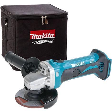 Makita DGA452Z 18V LXT 115mm Angle Grinder + 831373-8 Cube Tool Bag