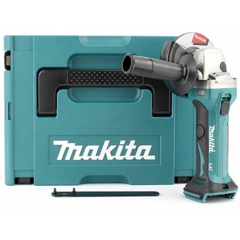 Makita DGA452ZJ Meuleuse d'angle à batteries 18V Li-Ion (machine seule) dans MAKPAC - 115mm