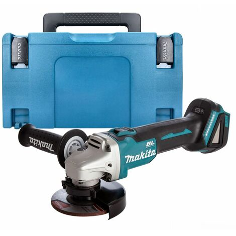 Makita DGA456ZJ 18v LXT Brushless 115mm Angle Grinder Body Only in Makpac Case