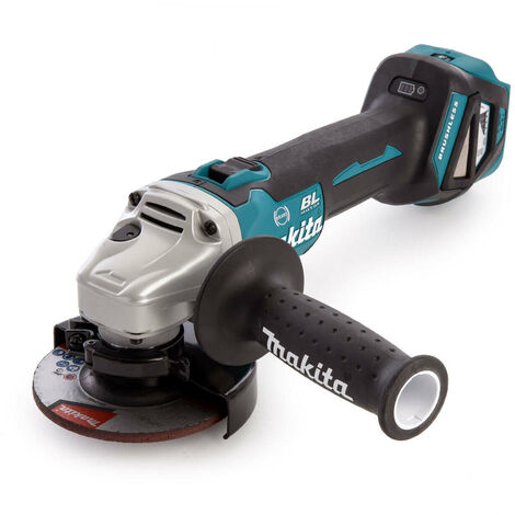 """main image of """"Makita DGA463Z 18V LXT Cordless Brushless 115mm Angle Grinder Body Only"""""""
