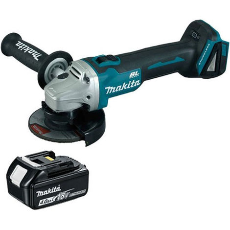 Makita DGA463Z 18V LXT 115mm Brushless Angle Grinder With 4.0Ah Battery