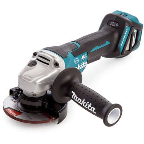 Makita DGA467Z 18V LXT Cordless Brushless 115mm Angle Grinder Body Only