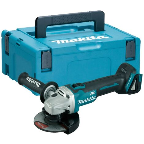 Makita DGA506Z 18v Cordless Brushless 125mm Angle Grinder Lithium + Makpac Case