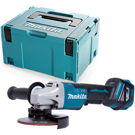 Makita DGA517 18V Paddle Switch Angle Grinder 125mm With 821551-8 Case