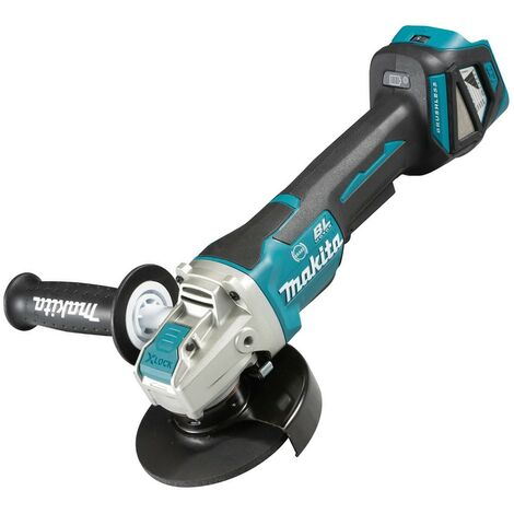 Makita DGA519Z 18v Cordless Brushless X-Lock Angle Grinder Li-Ion 125mm - Bare