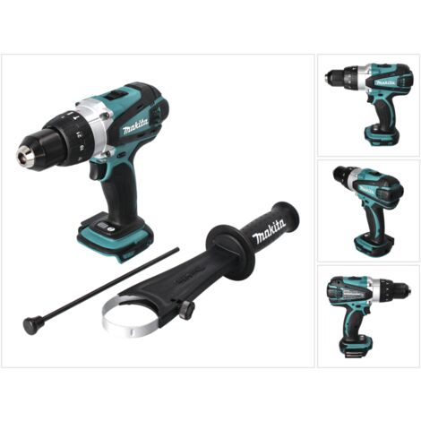 Makita DHP 458 Z Perceuse-Visseuse à percussion sans fil 18V 91Nm - sans batterie, sans chargeur