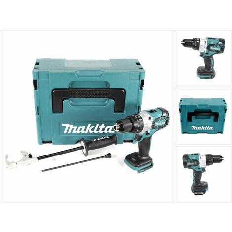 Makita DHP 481 ZJ 18V Perceuse visseuse à percussion sans fil Brushless 115 Nm en Coffret Makpac sans Batterie ni Chargeur