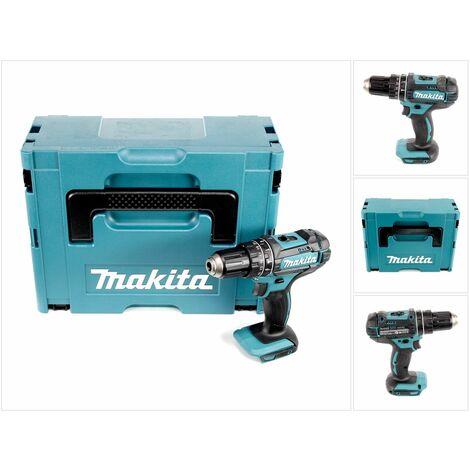 Makita DHP 482 ZJ - 18 V Li-Ion Perceuse visseuse à percussion sans fil avec boîtier Makpac - sans Batterie ni Chargeur