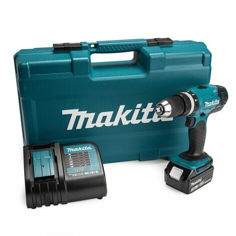 Makita DHP453FX12 18V Cordless Combi Drill with 1x3.0Ah Battery & 101 Piece Accessories Set