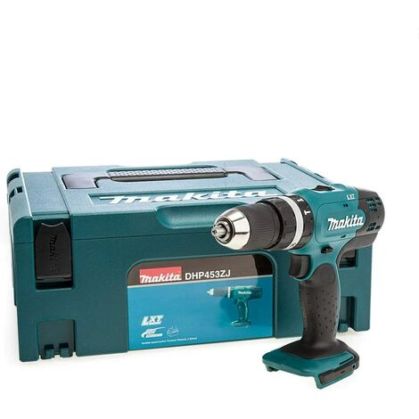 Makita DHP453ZJ 18V LXT Combi Hammer Drill Bare Unit in Makpac Case