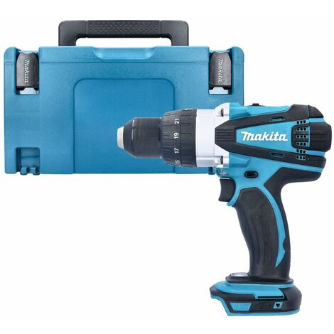 Makita DHP458Z 18V Cordless Compact Combi Drill Body With Type 3 Case & Inlay