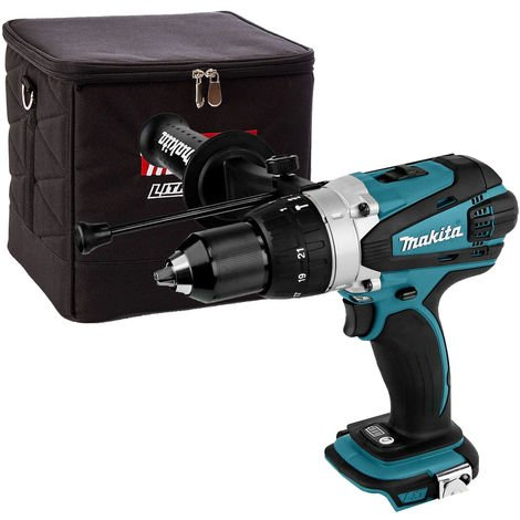 Makita DHP458Z 18V LXT 2 Speed Combi Drill + 831373-8 Cube Tool Bag