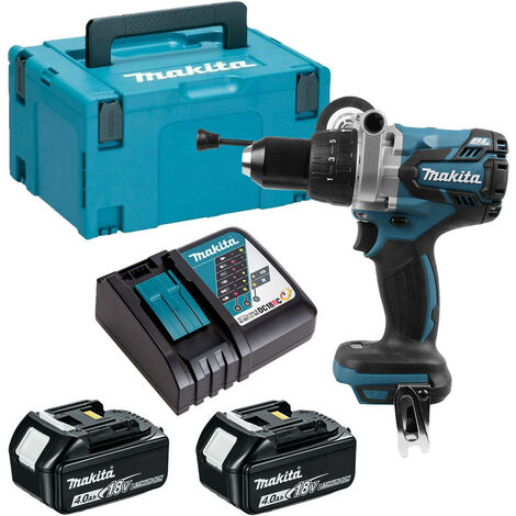 Makita DHP481RMJ 18V Brushless Combi Drill LXT 2 x 4.0ah Kit