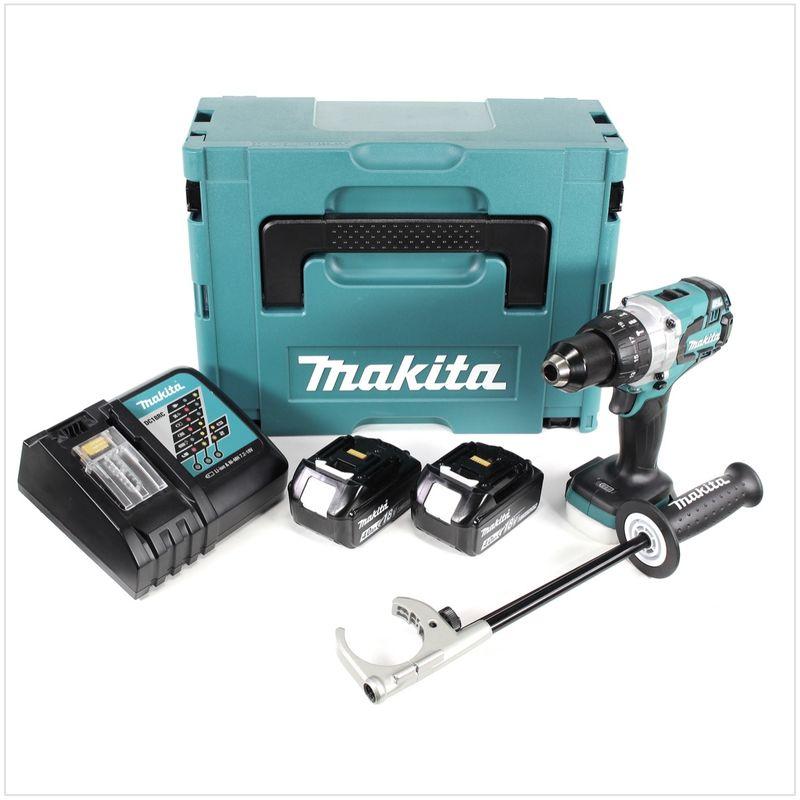 Makita DHP481RMJ Taladro Percutor A Bateria 18V 4,0 Ah Litio-Ion Bl 115Nm