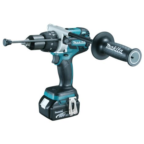Makita DHP481RTJ Brushless Drill Driver 18V 2 x 5.0Ah Li-ion