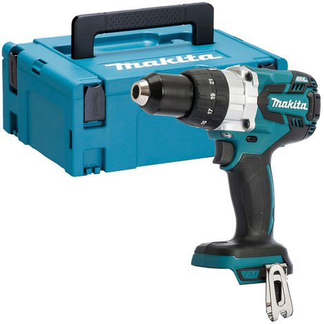 Makita DHP481Z 18V Brushless Combi Hammer Drill Body With MakPac Case & Inlay:18V