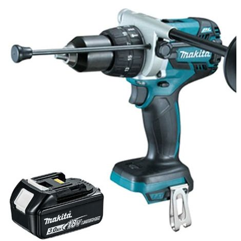Makita DHP481Z 18v LXT Brushless Combi Drill With 1 x 3.0Ah Battery