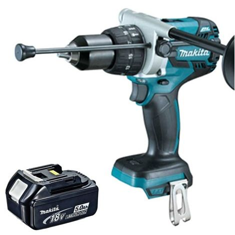 Makita DHP481Z 18v LXT Brushless Combi Drill With 1 x 5.0Ah Battery