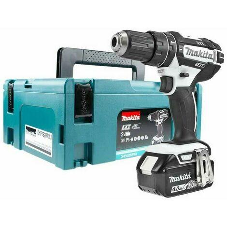Makita DHP482M1JW 18V LXT Combi Drill Makpac Kit with 1x4.0Ah Li-ion Battery