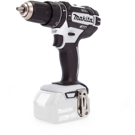 Makita DHP482WZ 18V LXT Li-ion 2-Speed Combi Drill White Body Only