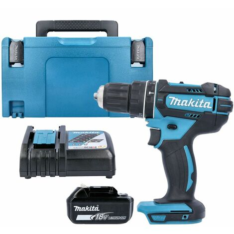 Makita DHP482Z 18V Combi Drill With 1 x 3.0Ah Battery, Charger, Case & Inlay