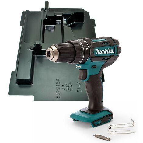 Makita DHP482Z 18v LXT 2 Speed Cordless Combi Drill Bare + Makpac Inlay