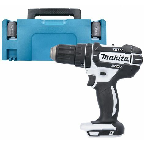 Makita DHP482Z White LXT Li-ion 18V Combi Drill With 821550-0 Type 2 Case