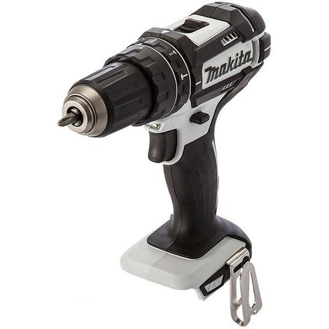 Makita DHP482ZW 18v LXT 2 Speed White DHP482Z Cordless Combi Drill - Bare Tool