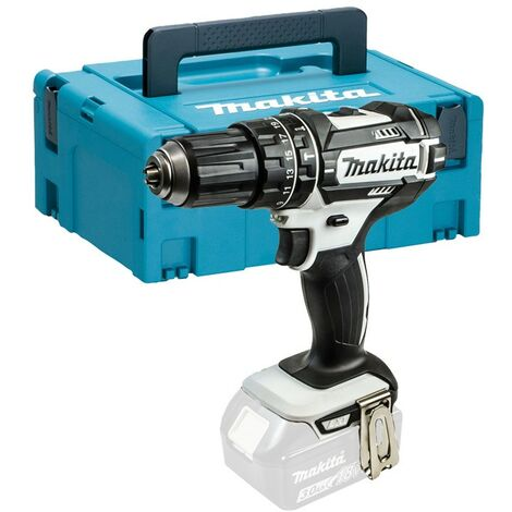 Makita DHP482ZW 18v LXT White Cordless Combi Drill DHP482 Bare + Makpac Case