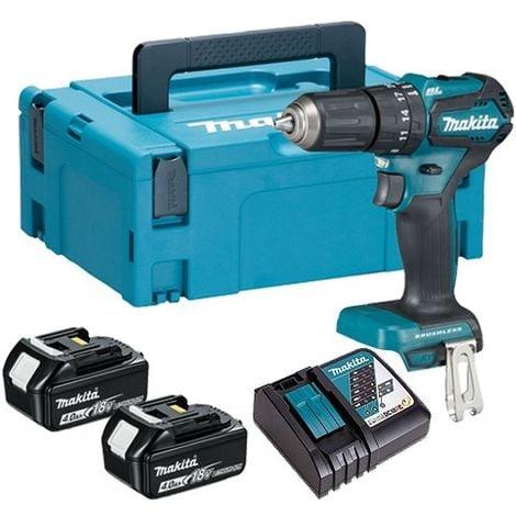 Makita DHP483RMJ 18V Brushless Compact Combi Drill & 2 X 4Ah Batteries