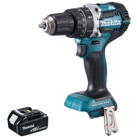 Makita DHP484 18V LXT Cordless Brushless Combi Drill with 1 x 4.0Ah Battery