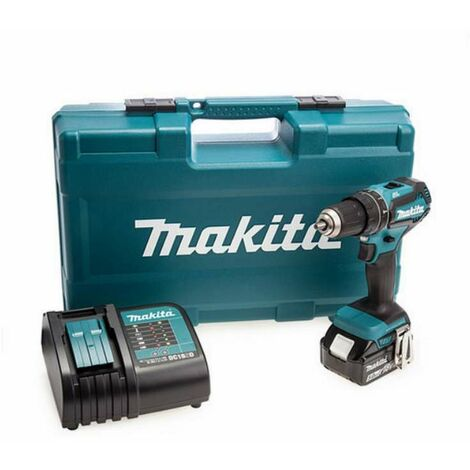 Makita DHP484STX5 18v LXT Brushless Combi Drill With 101 Piece Accessory Kit