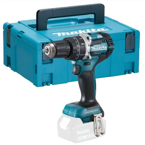 Makita DHP484Z 18V LXT Brushless Combi Hammer Drill Bare Unit with Makpac