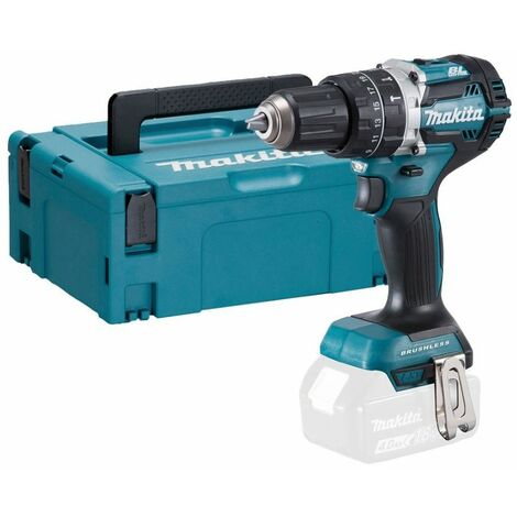 Makita DHP484ZJ 18v LXT Brushless 2-Speed Combi Drill With Case