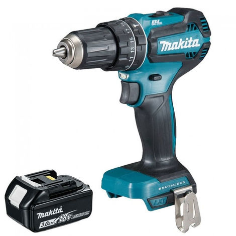 Makita DHP485Z 18V Cordless Brushless Combi Drill With 3.0Ah Battery:18V
