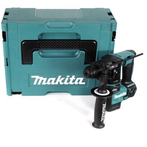 Makita DHR 171 ZJ Perforateur sans fil, sans balais 18 V à 2 étages Solo SDS Plus + Coffret Makpac - sans batterie, sans chargeur