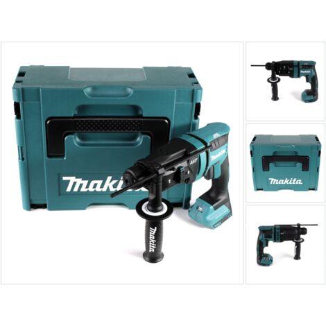 Makita DHR 182 ZJ Perforateur-Burineur sans fil 18V 1,7J SDS plus Brushless + Coffret Makita Makpac - sans batterie - sans chargeur