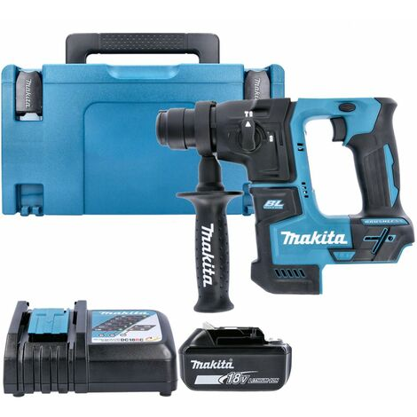 Makita DHR171 18V LXT SDS+ Rotary Hammer Drill With 1 x 6.0Ah Battery, Charger & Case