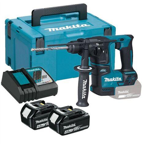 Makita DHR171RMJ 18V Cordless Brushless SDS Plus Rotary Hammer Drill - 2 x 4.0ah