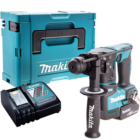 Makita DHR171Z 18V SDS+ Brushless Hammer Drill with 1 x 5.0Ah Battery & Charger in Case:18V