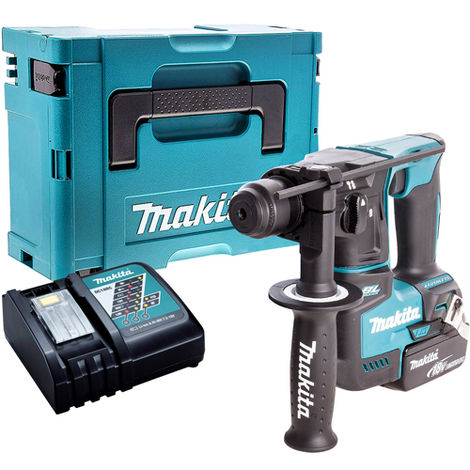 Makita DHR171Z Brushless SDS+ Hammer Drill with 1 x 4.0Ah Battery & Charger in Case:18V