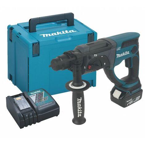Makita DHR202 18V LXT Lithium 2kg SDS Hammer Drill + 1 x 4.0 Battery + Case