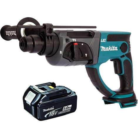 Makita DHR202Z 18V SDS Plus Rotary Hammer Drill With 1 x 5.0Ah Battery