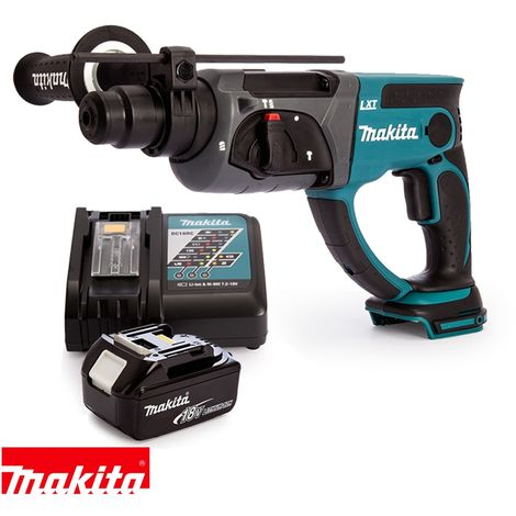 Makita DHR202Z 18V SDS Plus Rotary Hammer With 1 x 5.0Ah Battery & Charger