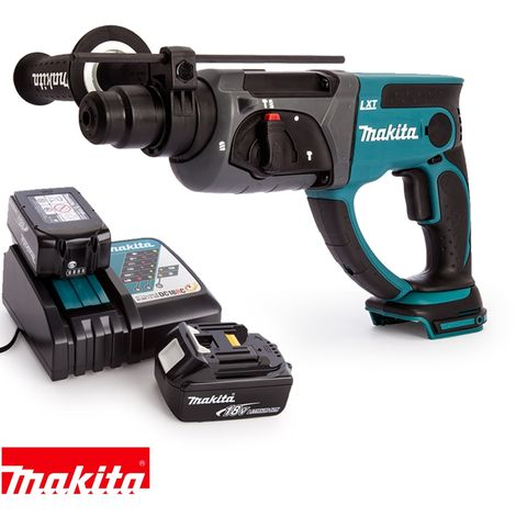 Makita DHR202Z 18V SDS Plus Rotary Hammer With 2 x 5.0Ah Batteries & Charger