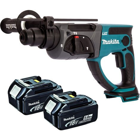 Makita DHR202Z 18V SDS+ Rotary Hammer Drill With 2 x 5.0Ah Batteries