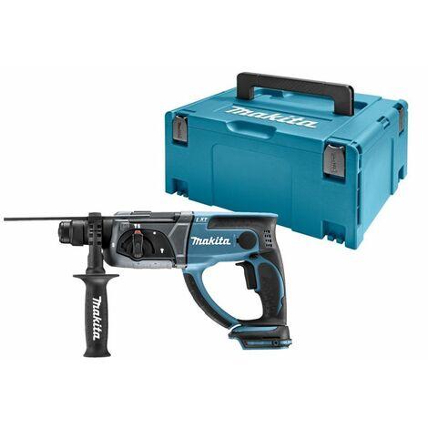Makita DHR202ZJ 18V Litio-Ion Batería SDS-plus Martillo combinado cuerpo en maletín Mbox - 2J