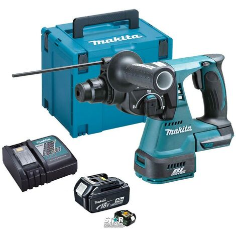 Makita DHR242 18v LXT Li-Ion 3 Mode 3KG SDS Rotary Hammer Drill + 4.0ah +Charger