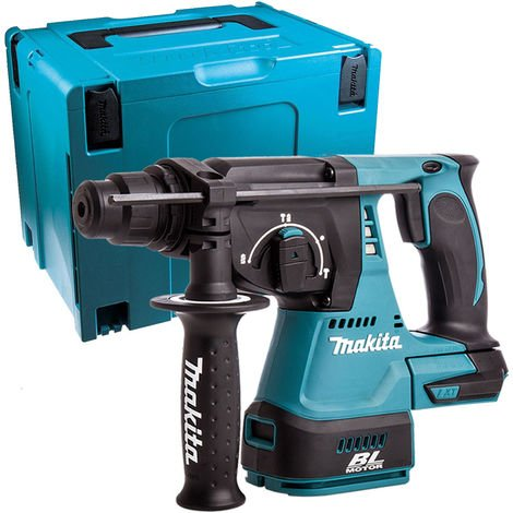 Makita DHR242Z 18v Brushless SDS+ Hammer With Mak Case Type 4 + Inlay